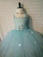 Elsa frozen Inspired Tutu Dress 👗 sizes 2-5T
