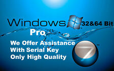 Windows 7 Professional 32-64bit SP1 Bootable Usb With Activation Key