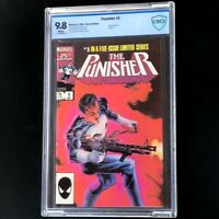 The Punisher Limited Series #5 💥 CBCS 9.8 WHITE Pages 💥 Marvel Comic 1986