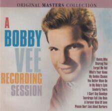 Bobby Vee - A Bobby Vee recording session (CD)