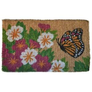 Imports Decor 660TCM Butterfly Garden Mat