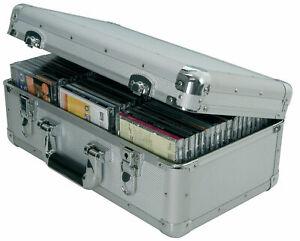 Citronic CDA:60 Aluminium CD Flight Case (Holds 60 CDs)