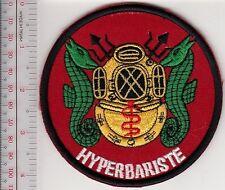 France Navy Medical Officer Hyperbariste Marine Francaise Officier Medical red