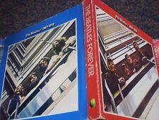 The BEATLES FOREVER 1962-1966 Red 1967-1970 Blue BOX SET Japan Vinyl RARE OBI