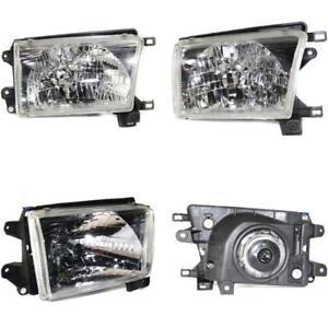 TO2503128 4RUNNER 99-02 HEAD LAMP RH, Assembly, Halogen for 99-02 Toyota 4Runner