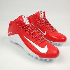 Nike Speedlax 5 807143-611 Men's Lacrosse Cleat Challenge Red/White 10.5 New