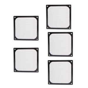 5 pack of PC Cooler 120mm Dustproof Case Fan Dust Filter Guard Grill Protector