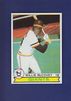 Willie McCovey HOF 1979 TOPPS Baseball #215 (NM+) San Francisco Giants