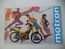 advertising Pubblicità 1989 MOTRON GTO 50