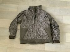 DRAKE WATERFOWL MST FLEECE LINED PULLOVER 2.0 JACKET BOTTOMLAND CAMO LARGE