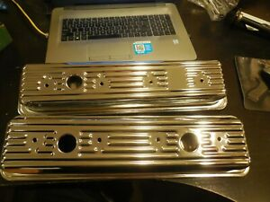 NEW  MW DynaChrome 1987 and Newer Chevy 5.0L & 5.7L Chrome Valve Covers #20697