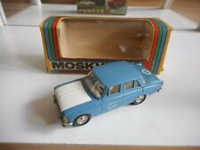 """USSR / CCCP Moskvitch 412 """"Post"""" in Blue on 1:43 in Box"""