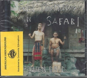 Owen Davis ‎– Fred MacMurry On Safari     new cd in seal  American Underground