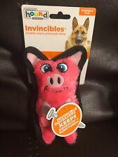 Outward Hound Pig Plush Squeaking Interactive Dog Toy Mini