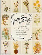 Greeting Cards by the Dozen Book 1 Flowers Sewing Symbols for Machine Embroidery