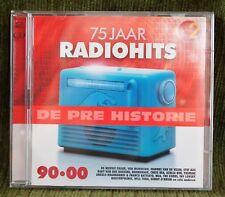 DE PREHISTORIE - 75 JAAR RADIOHITS 90 - 00  -- !!!  DUBBEL CD  !!!