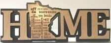 Minnesota Home Word Art Decorative Sign - Mn Words We Say