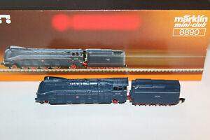Märklin Z 8890 DRG Schlepptenderlok BR 03 1079 Stromlinienlok - Neuzustand + OVP