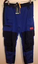 Polo Ralph Lauren Performance Men's Royal Blue Hi-Tech Colorblocked Pants $228