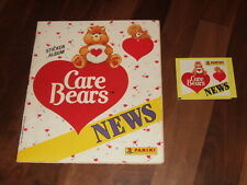Care Bears NEWS Panini Complete Sticker Album & empty packet.