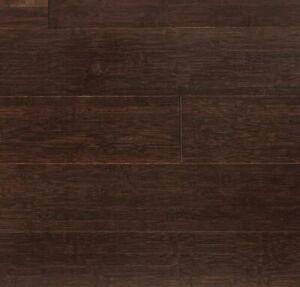"3-3/4"" Horizontal Mocha Bamboo Flooring - EnviFloors.com ( Sample)"