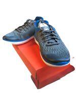 Nike Free RN 2018 (GS) Kid's Gunsmoke/White-signal Blue AH3451 005 Size US 6Y