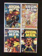 4 Issue Lot - Iron Man 258, 260, 261, 265 Avengers