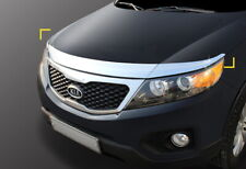 Chrome Silver Bonnet Guard Garnish Deflector K-895 EMS for Kia Sorento 2010~2015