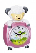 Eichmüller Kinderwecker Schaf  rosa Analogwecker mit Alarm Snooze und Licht Neu