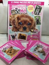 Album + 50 Bustine In Omaggio Puppies & Me sticker & card collection Panini!!