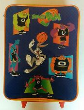 Space Jam Child's Suitcase Luggage WB 1996 Basketball Bag Movie