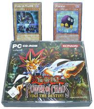 YU-GI-OH!: Power of Chaos-Yugi the Destiny rarità tedesco con Carte Top