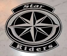 STAR RIDERS XL PATCH Aufnäher Parche brodé yamaha toppa ROYAL DRAG MIDNIGHT ROAD