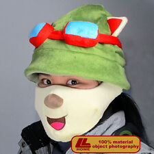 NEW LOL League of Legends Teemo Hat Mask Cosplay set Army Green Color Game Gift