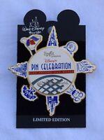 Disney World EPCOT PIN CELEBRATION LOGO ARTIST SIGNED LE 7500 Pin - Retired Pins