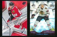 2008-09 Patrick Kane SPx Holoview FX & Sp Authentic SpxCitement Blackhawks Cards