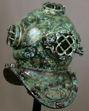 Brass Antique Us Navy Divers Diving Helmet Vintage Rare Morse Scuba Helmet Gift