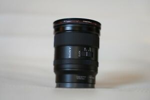 Barely Used Sony 20mm 1.8 FE Lens with Freewell ND Filter and Magnetic Cap