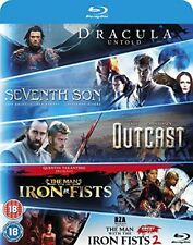 Blu-ray Starter Pack  Seventh Son, Dracula Untold, Outcast, Man with the Iron Fi