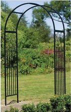 Garden Archway Arch Arbor Trellis Yard Decor Metal Wedding Patio Steel Entrance