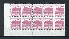 Berlino n. 611a ** eckrand 10er-blocco in basso a sinistra-vedi foto!!! (121491)