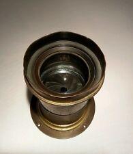 Hermagis Aplanat No 5 - 360 mm  f:8 ,  Brass lens / Objectif Laiton / Wet Plates