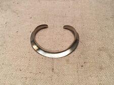 Palle Bisgaard P. Bis. Denmark Sterling Silver Mid Century Modern Cuff Bracelet