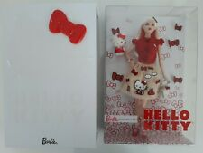 Barbie doll HELLO KITTY - Neuve - NRFB -Collector - 2017 -gilet rouge -Signature