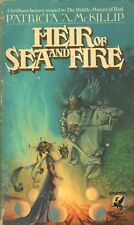HEIR OF SEA AND FIRE By PATRICIA A McKILLIP Del Rey PB 1977 1982 12th