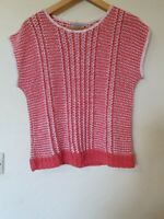 True Vintage Next Crochet Relaxed fit Top Size S 10 12 14
