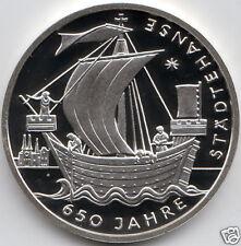 manueduc  ALEMANIA  2006  10 Euros  PLATA  Ceca J  925 mm.  Städtehanse Nueva