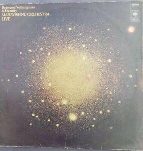 LP 33T  MAHAVISHNU ORCHESTRA  LIVE  BETWEEN NOTHINGNESS & ETERNITY   JAZZ FUSION