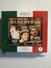 Gerardo Reyes, Cornelio Reyna, Luis Pérez Meza lo mejor de rancheras 3CD Boxset