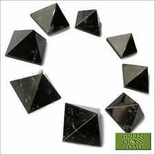 1 x Smoky Quartz Pyramid Crystal Protects by Disolving Negative Emotions 20mm